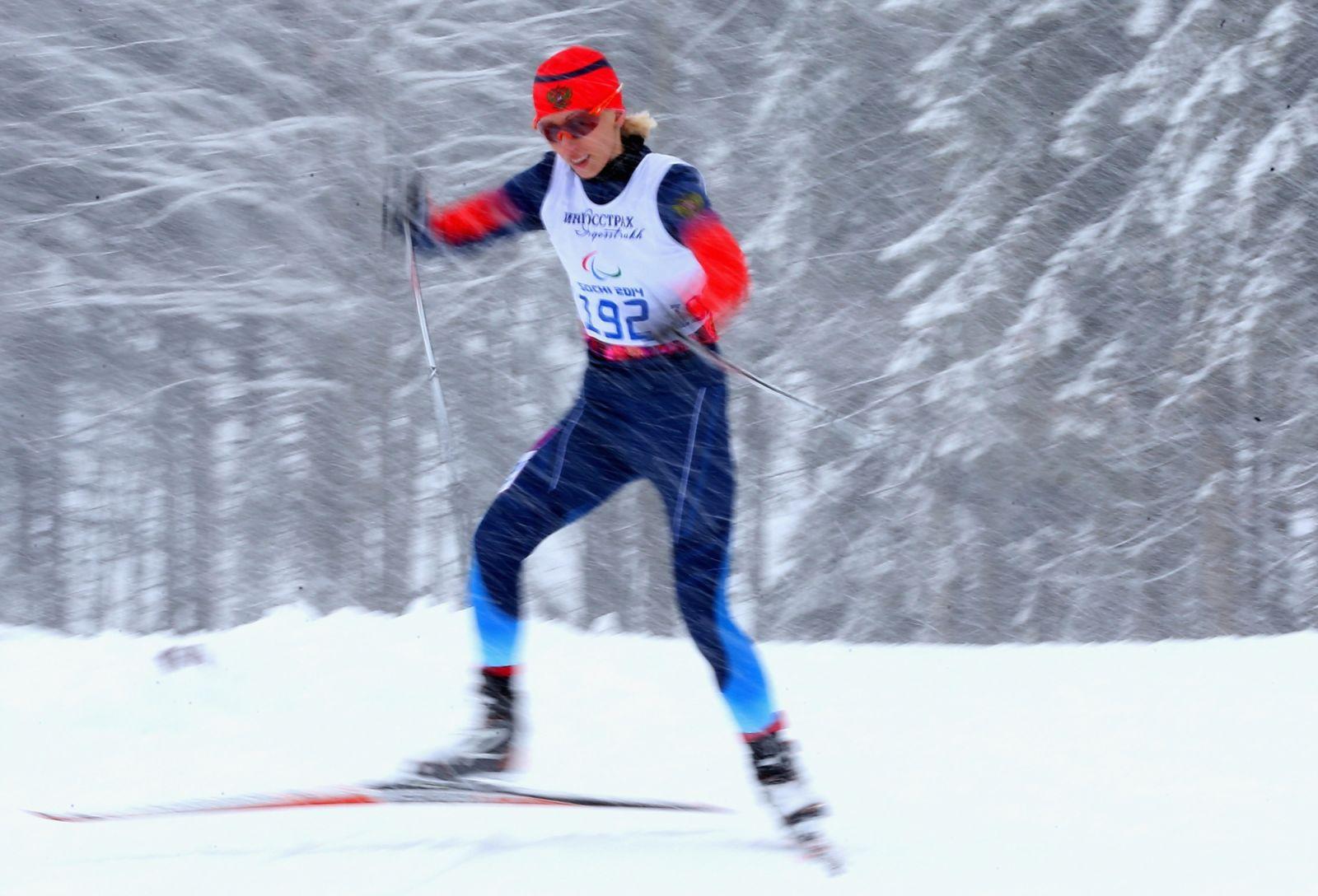 Послы паралимпийского спорта. Михалина Лысова