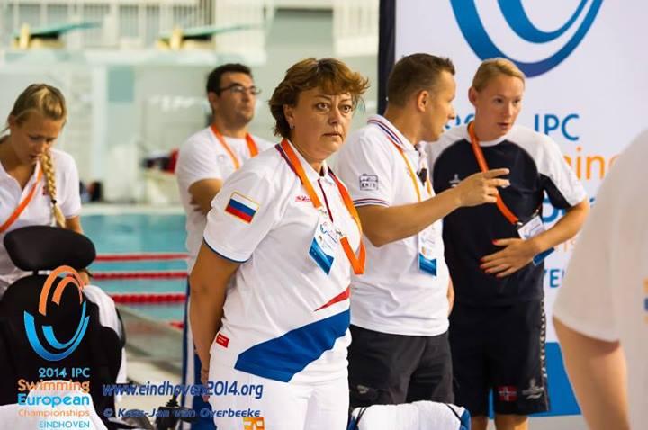 Во второй день чемпионата Европы по плаванию спорта лиц с поражением опорно-двигательного аппарата, спорта слепых и спорта лиц с интеллектуальными нарушениями в г. Эйндховен (Нидерланды) сборная команда России завоевала14 медалей