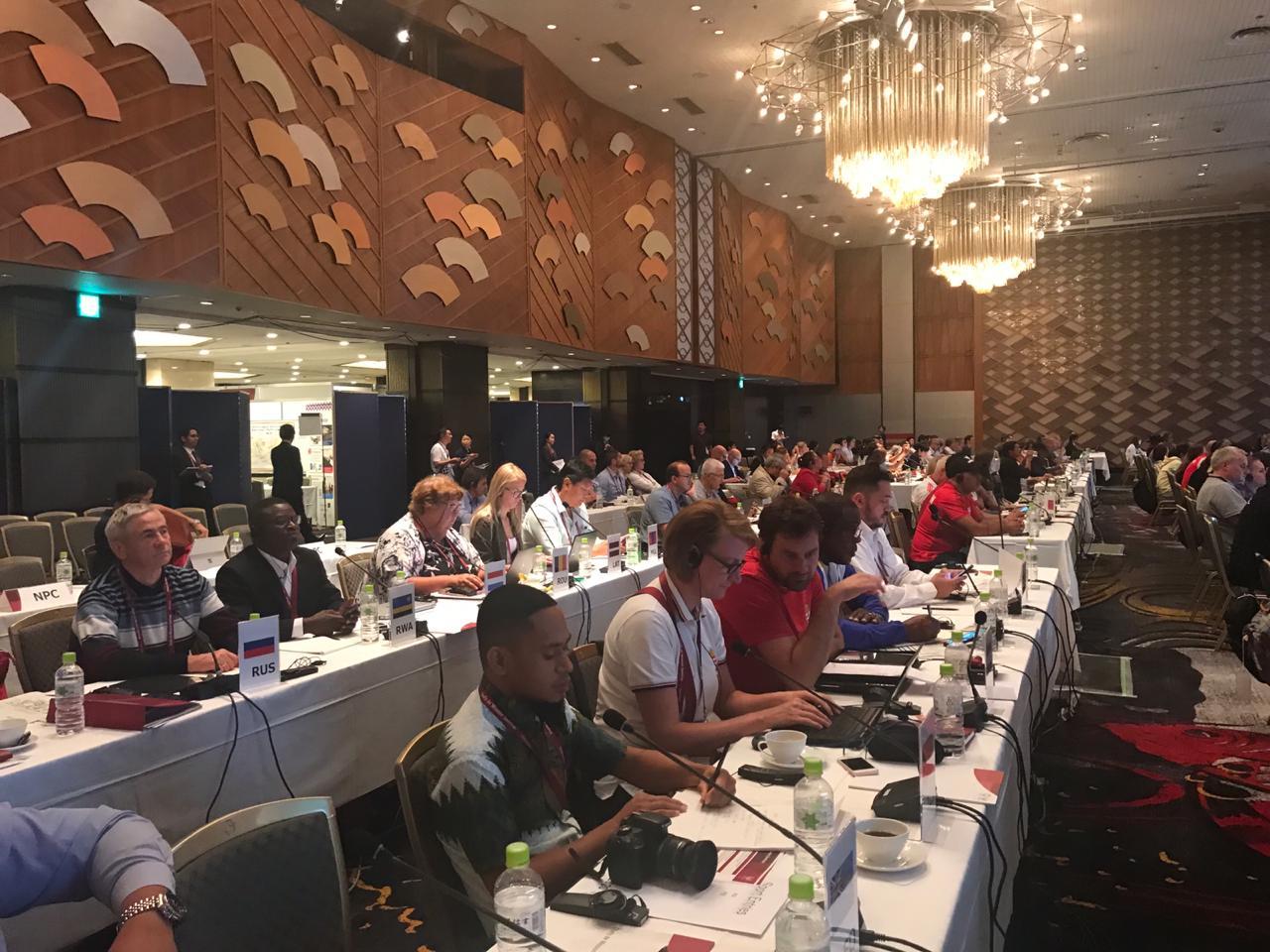 П.А. Рожков в г. Токио (Япония) принял участие в первом дне семинара Шефов миссии национальных сборных команд XVI Паралимпийских летних игр 2020 года в г. Токио (Япония)