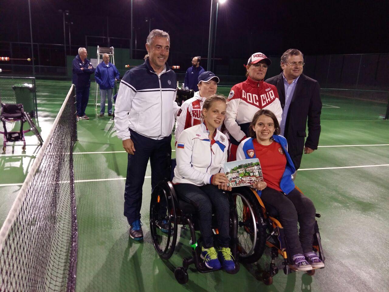 Женская cборная команда России по теннису на колясках завоевала серебряные медали на командном чемпионате Европы в Португалии