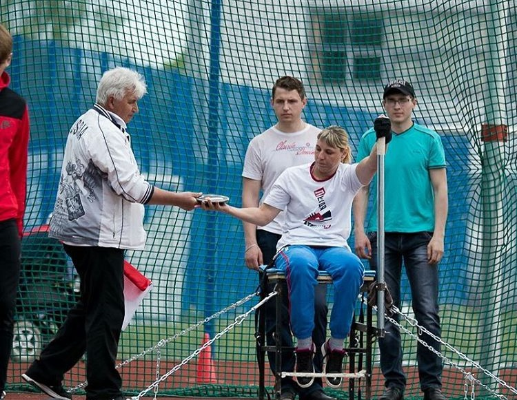 На чемпионате страны по легкой атлетике спорта лиц с ПОДА спортсмены установили 14 рекордов России