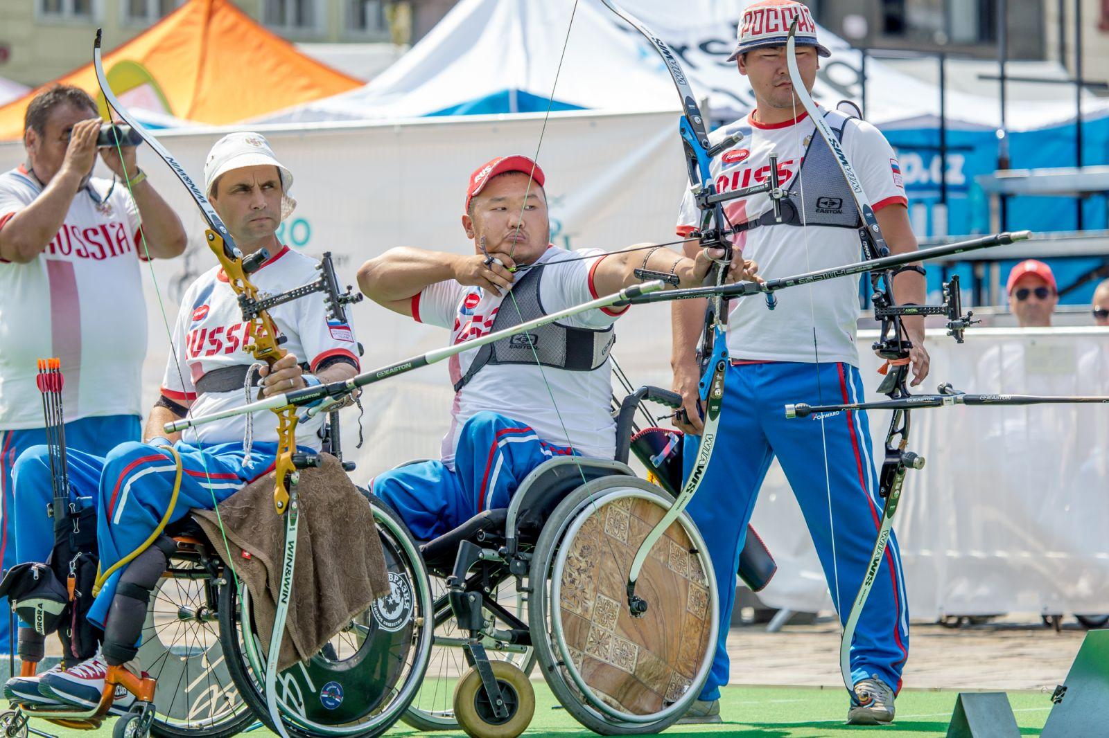 Сборная команда России выиграла общекомандный зачет чемпионата Европы по стрельбе из лука спорта лиц с ПОДА в Чехии