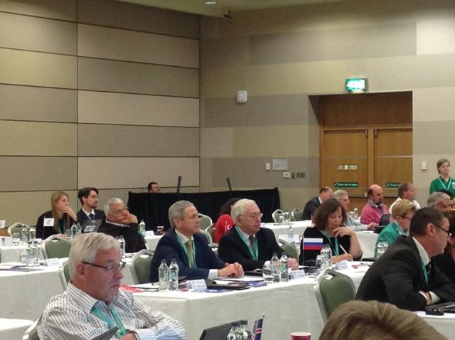 В. П. Лукин, П. А. Рожков, М. Б. Терентьев в г. Дублине (Ирландия) приняли участие в Конференции и заседании Генеральной Ассамблеи Европейского паралимпийского комитета