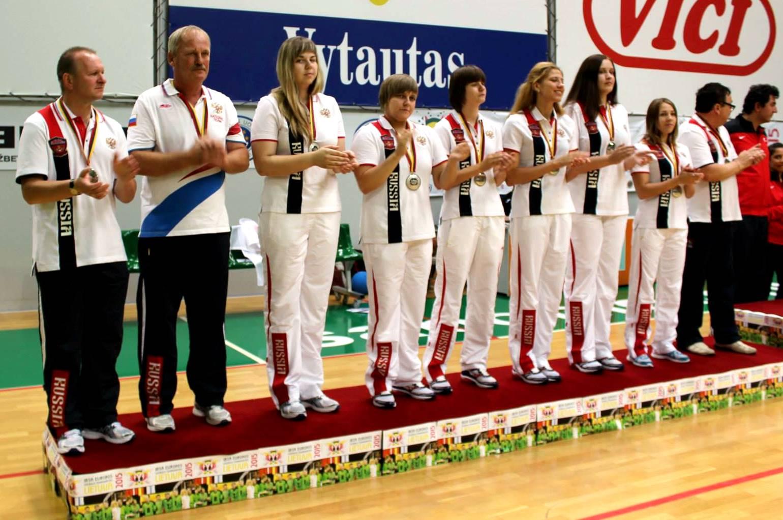Сборная команда России по голболу завоевала серебряные медали чемпионата Европы