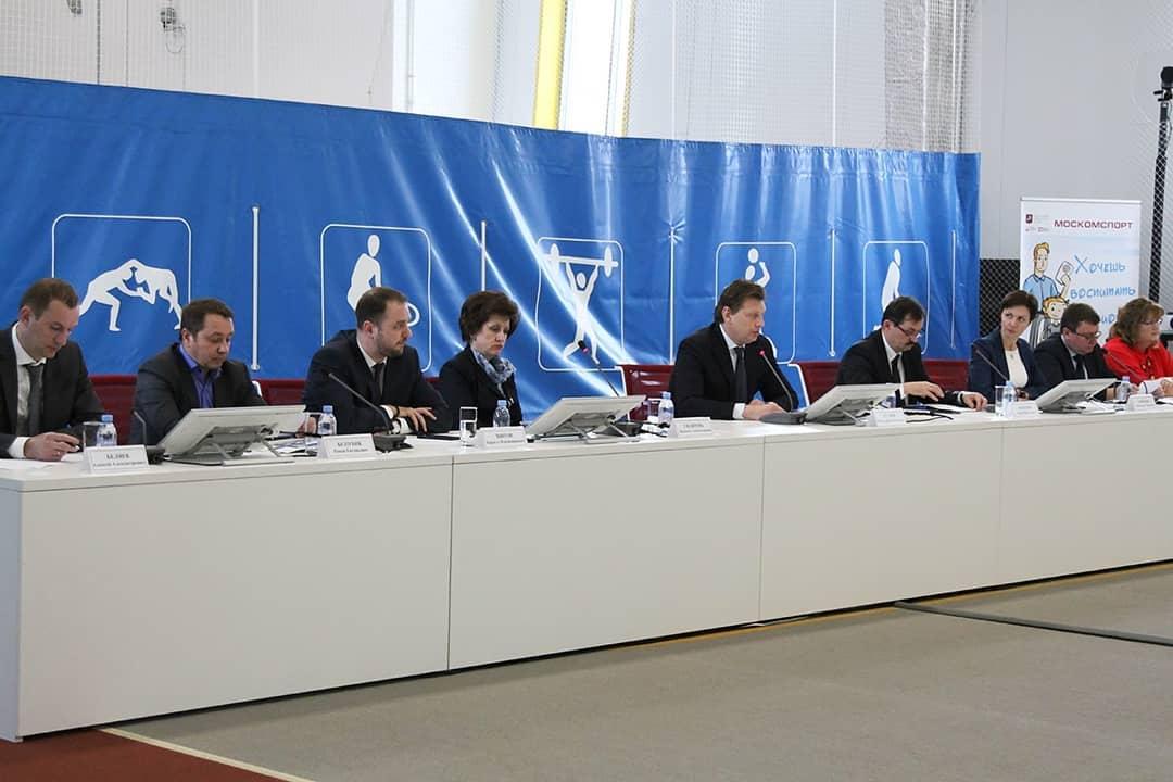 А.А. Строкин в г. Москве принял участие в заседании Коллегии Департамента спорта г. Москвы