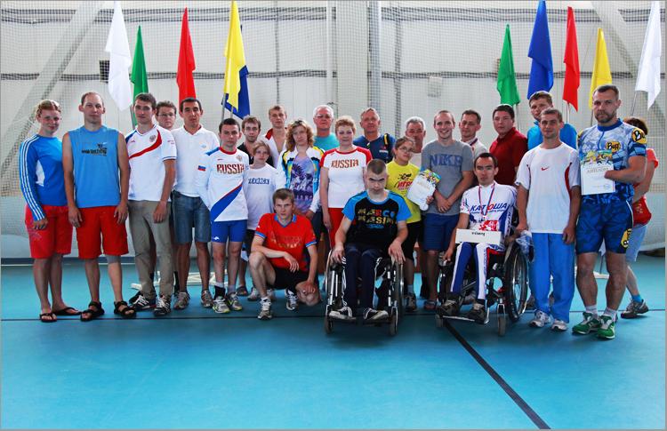 В г. Богородске (Нижегородская область) завершился чемпионат России по триатлону спорта лиц с поражением опорно-двигательного аппарата