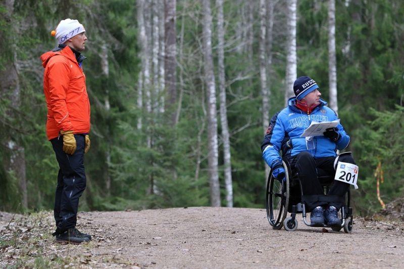 Сборная команда России по спортивному ориентированию спорта лиц с ПОДА ведет борьбу за награды чемпионат мира в Литве