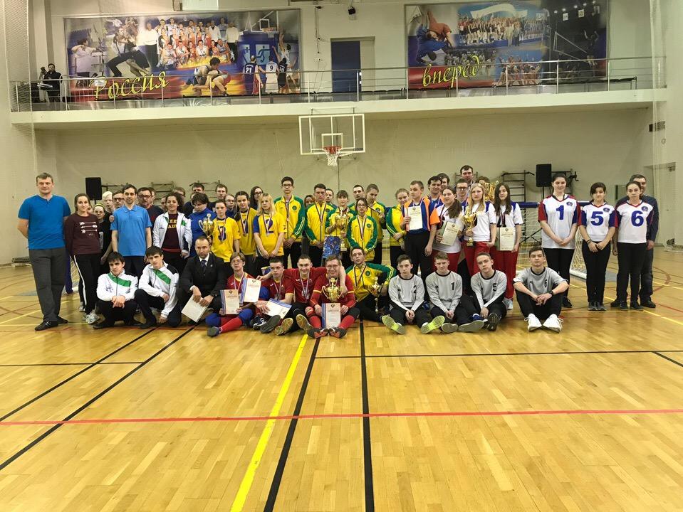 В Раменском определены победители первенства России по голболу спорта слепых