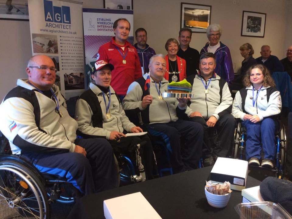 Сборная команда России по керлингу на колясках убедительно выиграли престижный международный турнир в Шотландии