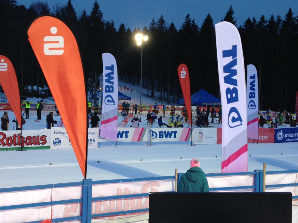 Российские спортсмены завоевали 4 золотые, 3 серебряные и 3 бронзовые награды в биатлонном спринте на этапе Кубка мира в Германии