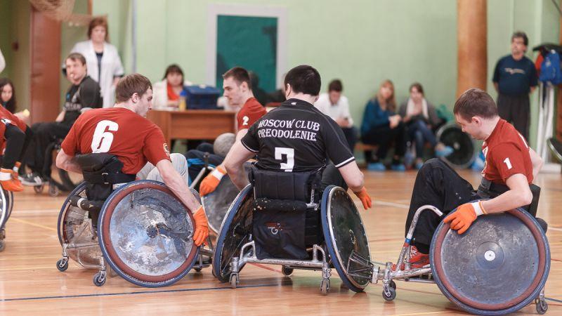 Команды из шести регионов страны продолжат борьбу за награды чемпионата России по регби на колясках