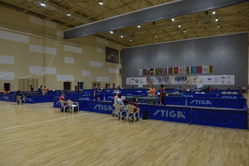 Сборная России по настольному теннису выиграла общекомандный зачет на Всемирных играх IWAS-2015 в Сочи