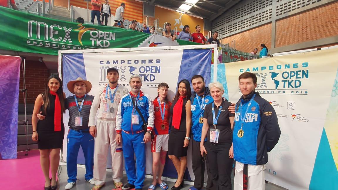 Российские спортсмены завоевали 3 золотые, 1 серебряную и 1 бронзовую медали на открытом чемпионате Мексики по паратхэквондо
