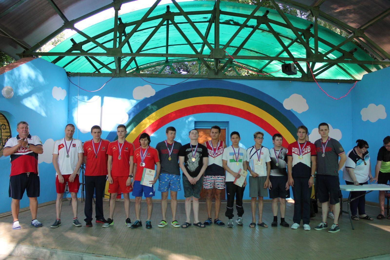 Башкирские спортсмены выиграли командное первенство чемпионата России по плаванию спорта слепых в Раменском