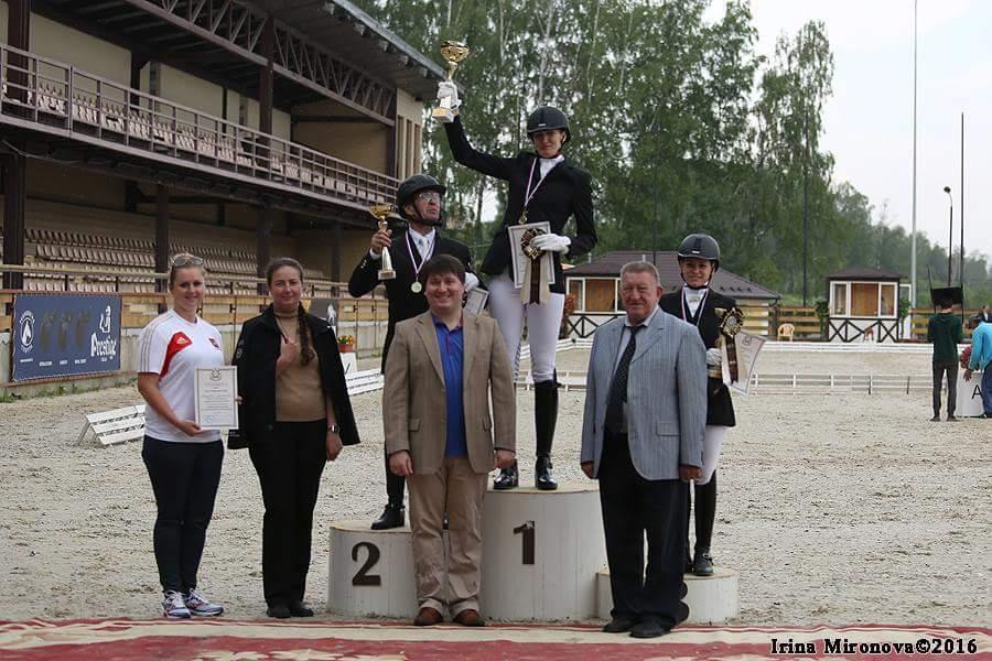 Представители пяти регионов страны стали победителями чемпионата России по конному спорту в Подмосковье
