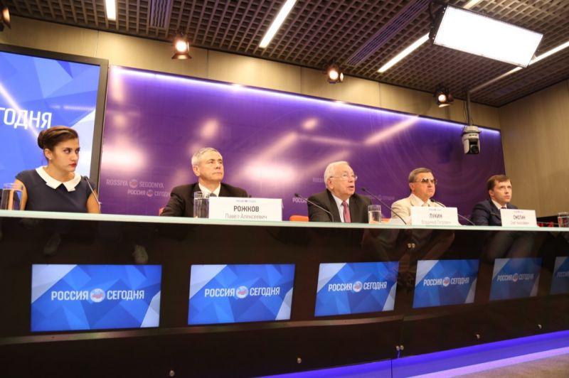 ПКР в МИА «Россия Сегодня» провел пресс-конференцию по вопросам участия паралимпийской сборной команды России в XV Паралимпийских летних играх 2016 года в г. Рио-де-Жанейро (Бразилия)