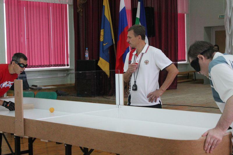 В г. Раменском Федерация спорта слепых проведет чемпионат России по настольному теннису