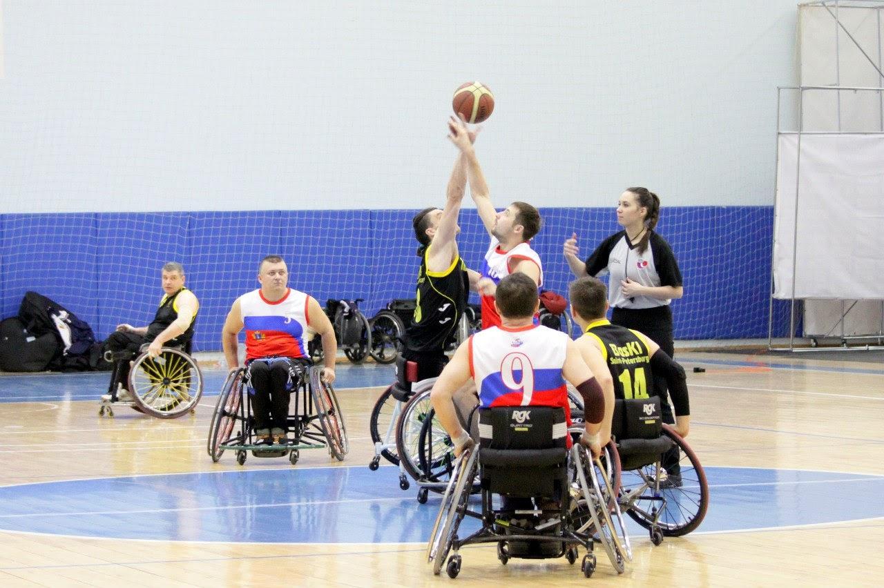 Сборная команда России по баскетболу на колясках примет участие в Кубке Стамбула