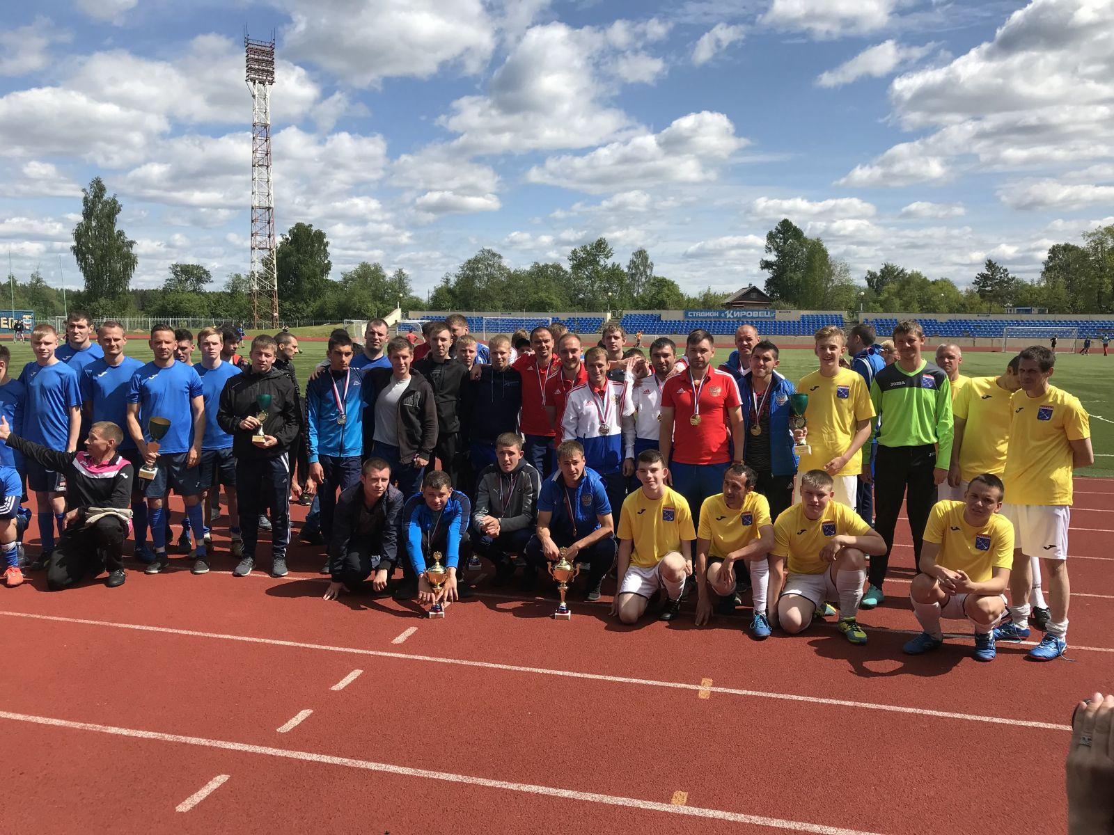 Подмосковная команда Лев Черной-Олимпия выиграла чемпионат России по футболу 7х7 спорта лиц с заболеванием ЦП