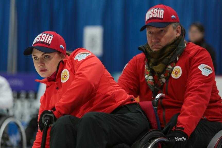 Сборная команда России по керлингу на колясках заняла 7 место на чемпионате мира в Шотландии