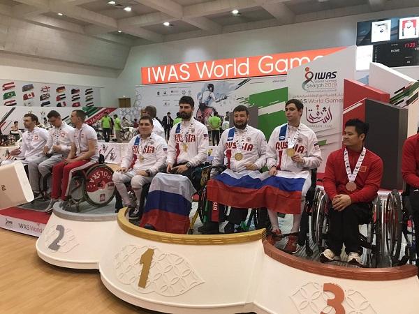 Российские фехтовальщики завоевали 6 золотых, 2 серебряные и 10 бронзовых медалей на Всемирных играх колясочников и ампутантов IWAS в г. Шарджа (ОАЭ)