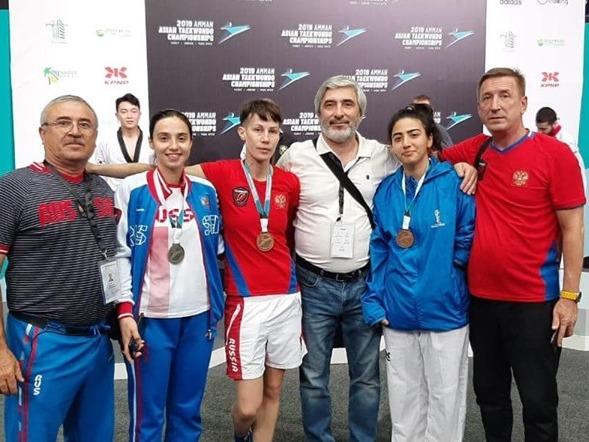 2 серебряные и 5 бронзовых медалей завоевала сборная команда России по паратхэквондо на Открытом чемпионате Азии