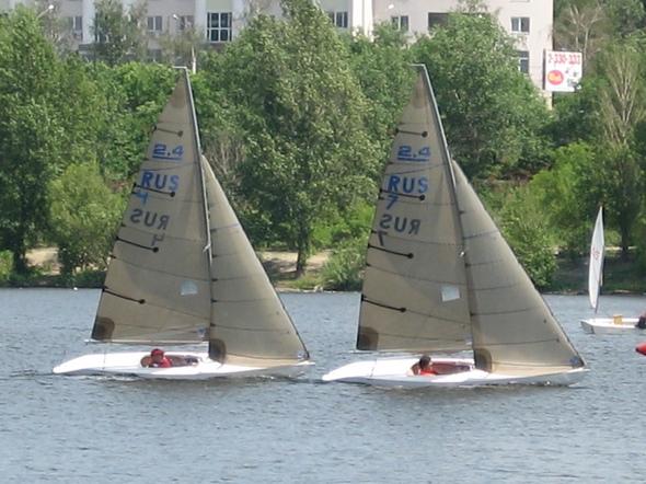 Российские яхтсмены вступают в борьбу за награды чемпионата мира в Германии