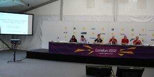 М.С. Береснев и О.В. Ермаков приняли участие в совещании Организационного комитета по проведению Паралимпиады в Лондоне, на котором были обсуждены вопросы реализации антидопинговой программы на Играх
