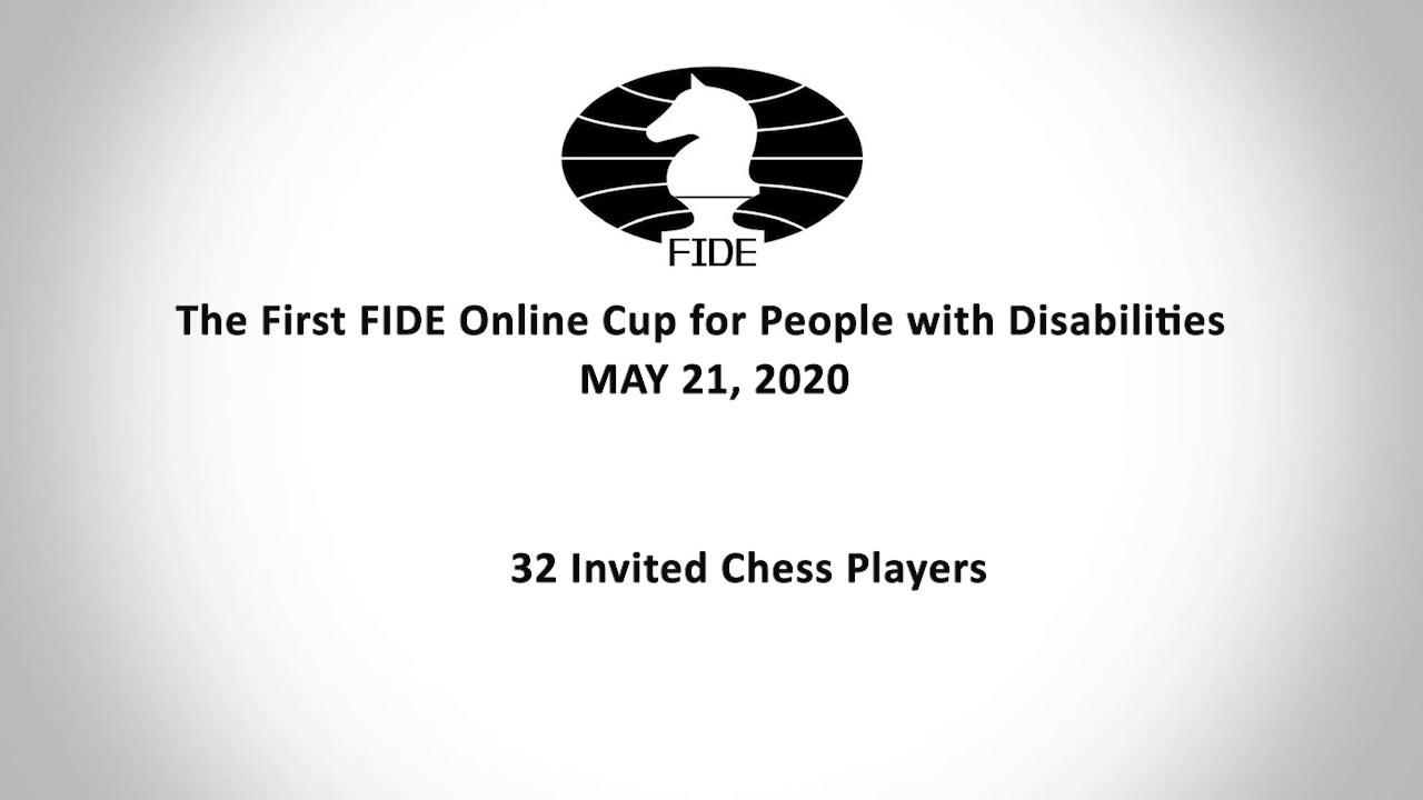 Три российских шахматиста примут участие в первом Онлайн-Кубке FIDE среди лиц с ограниченными возможностями здоровья