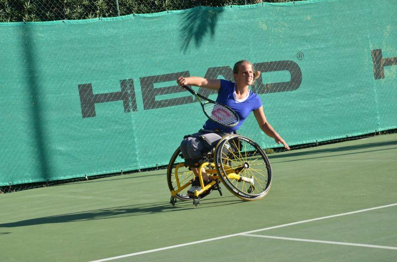 Российские спортсмены ведут борьбу за награды чемпионата мира по теннису на колясках