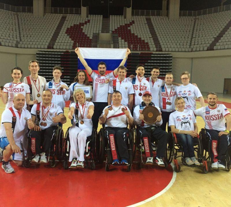 Российские парабадминтонисты завоевали 7 наград на международных соревнованиях в Турции