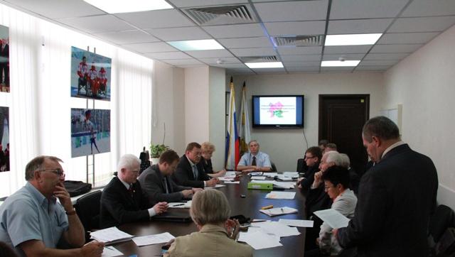 В офисе ПКР состоялось заседание Рабочей группы по подготовке к XIV Паралимпийским летним играм 2012 года в Лондоне (Великобритания)