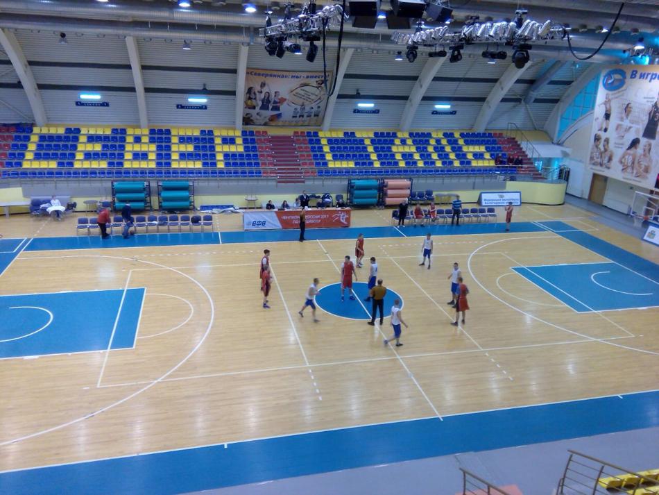 Девять команд в Череповце поспорят за медали чемпионата и первенства России по баскетболу спорта ЛИН