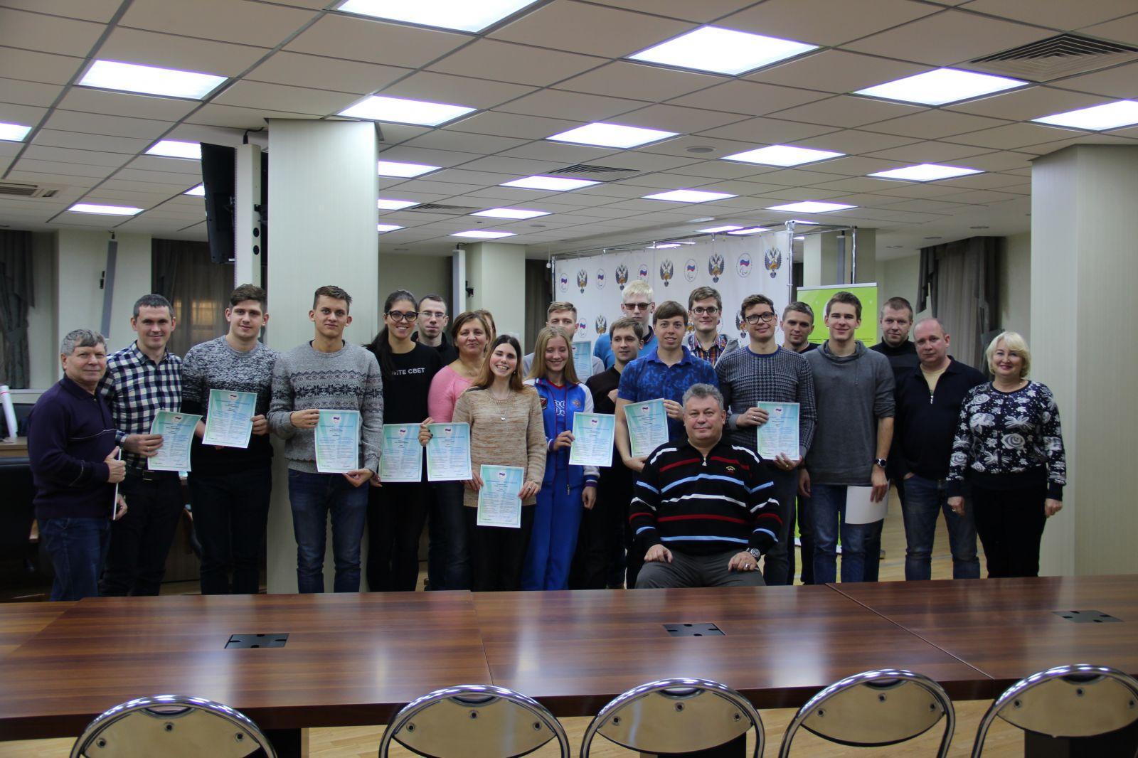 ПКР в г. Москве в офисе ПКР провел Антидопинговый семинар для членов сборной команды России по плаванию спорта слепых и спорта лиц с ПОДА