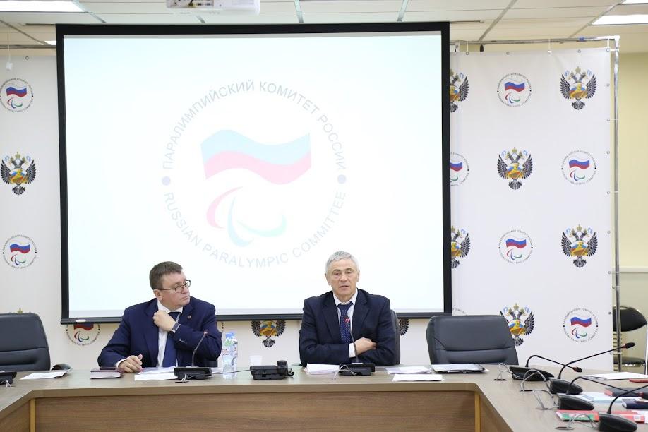 П.А. Рожков в офисе ПКР провел совместное заседание Рабочей группы ПКР по разработке и реализации мер, направленных на восстановление членства ПКР в МПК и Совета по координации программ, планов и мероприятий ПКР