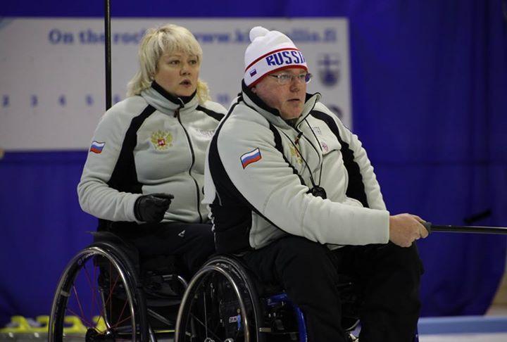 Сборная команда России по керлингу на колясках вышла в финал чемпионата мира в Финляндии