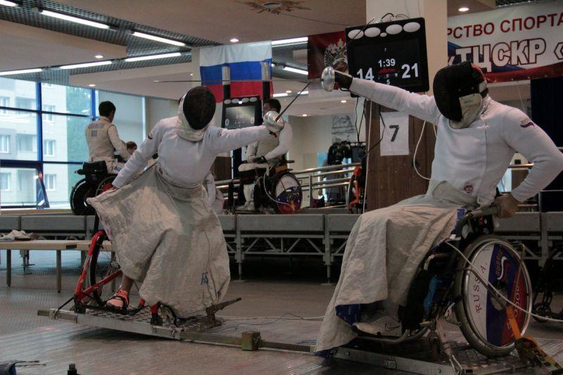 На ТЦСК «Озеро Круглое» пройдет чемпионат России по фехтованию на колясках