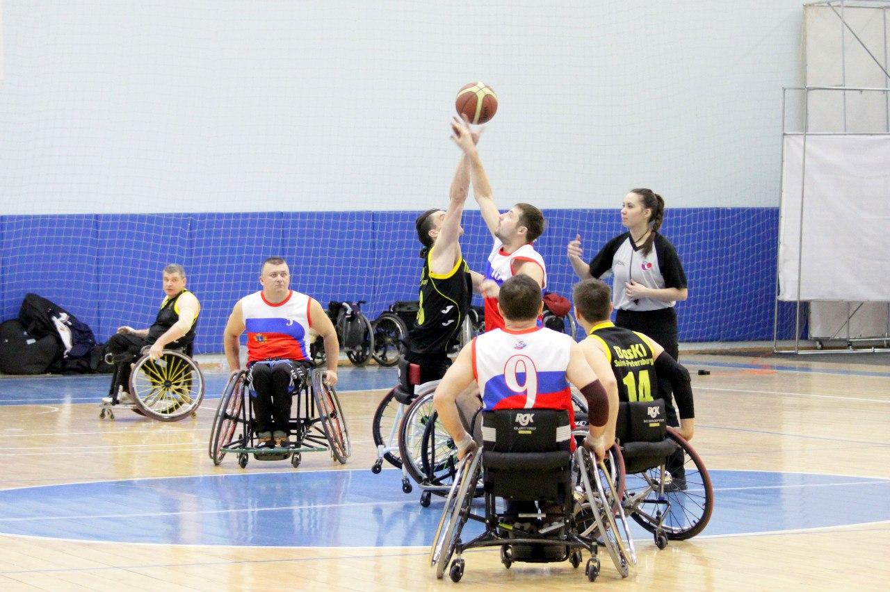 Баскетболисты из Санкт-Петербурга стали победителями первого круга чемпионата России по баскетболу на колясках