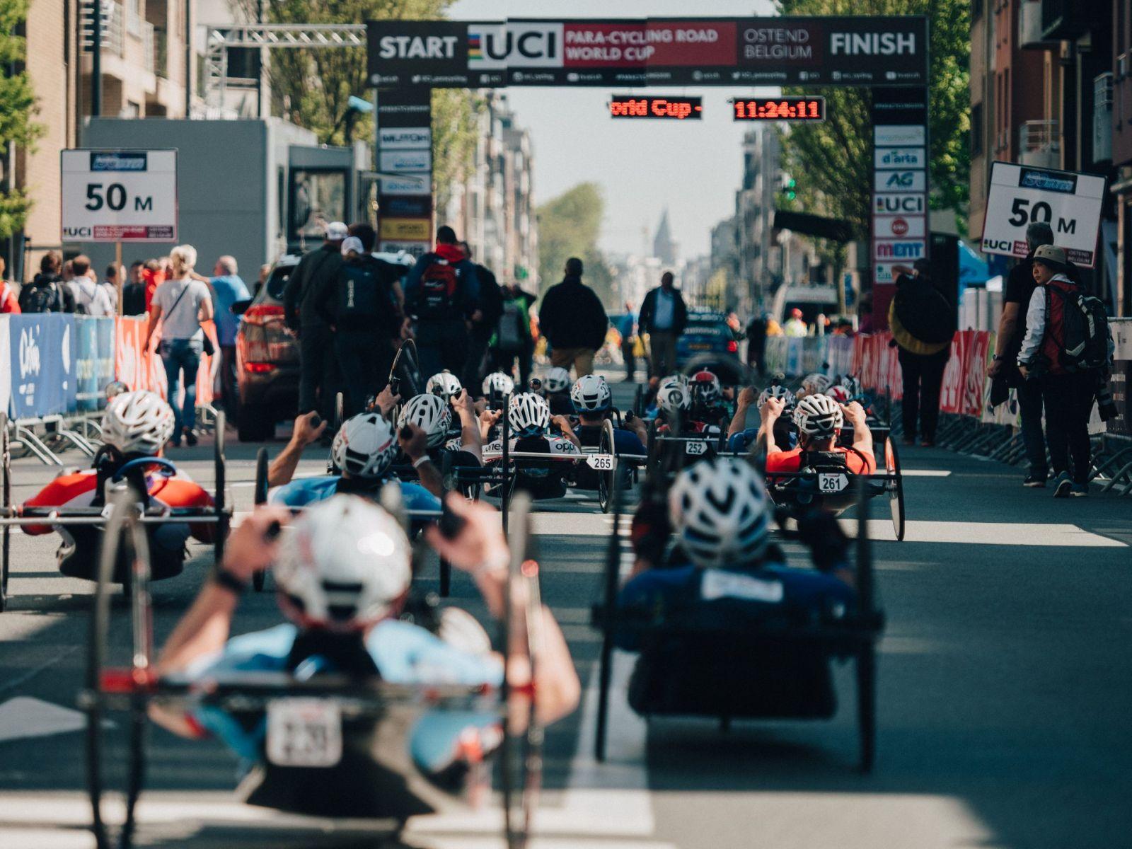 Российские спортсмены завоевали золотую, серебряную и бронзовую медали на 1 этапе Кубка мира по велоспорту среди лиц с ПОДА и нарушением зрения в Бельгии
