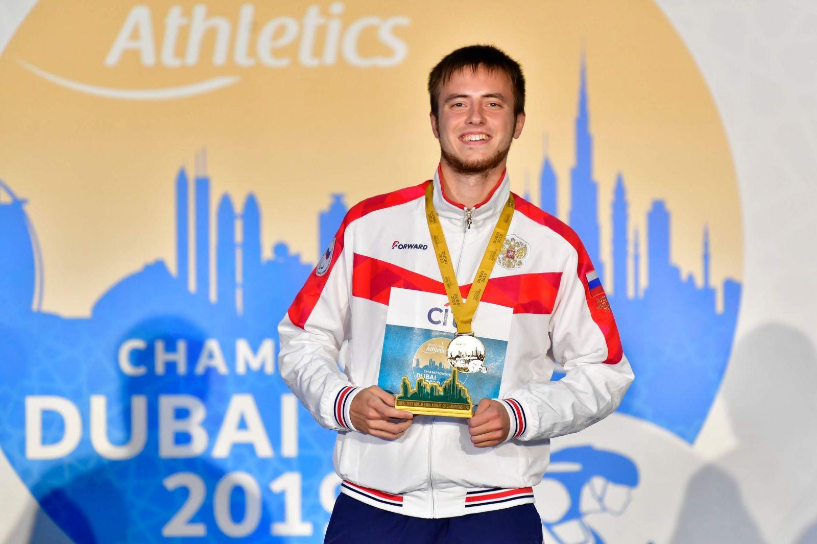 Сильнее обстоятельств – 9-кратный чемпион мира по легкой атлетике спорта лиц с ПОДА Андрей Вдовин