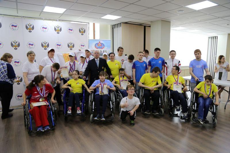 В спортивном зале офиса ПКР состоялись церемонии награждения и закрытия Традиционного фестиваля паралимпийского спорта «Парафест»