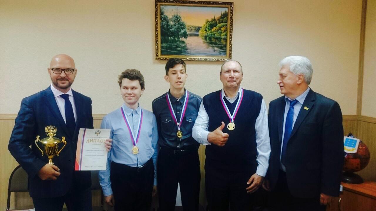 Сборная Ярославской области стала победителем командного чемпионата России по шашкам ФСС
