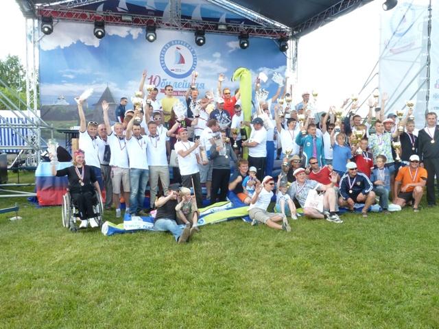 В  Псковской области завершилась X Юбилейная Псковская международная регата, в которой приняли участие спортсмены с поражением опорно-двигательного аппарата