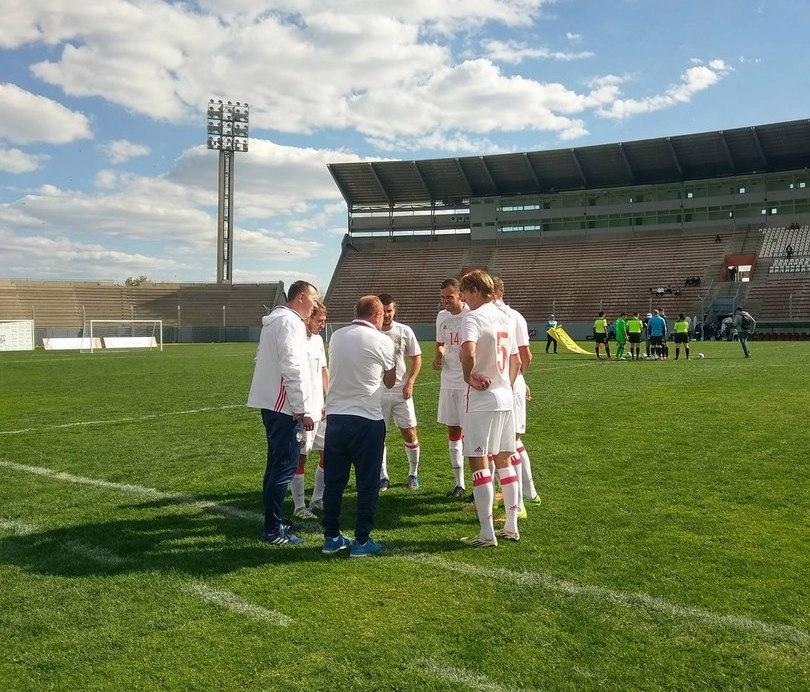Россияне выиграли второй матч на чемпионате мира по футболу 7х7 ЦП в Аргентине и возглавили турнирную таблицу в группе В