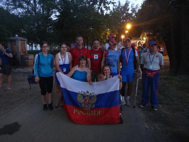 В г. Белграде (Сербия) прошел этап Кубка мира по академической гребле на открытой воде среди спортсменов с поражением опорно-двигательного аппарата