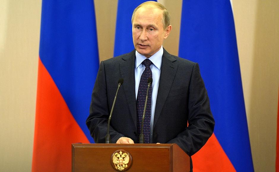 Президент России Владимир Путин поздравил национальную сборную с успешным выступлением на Всемирных играх IWAS-2015 в Сочи