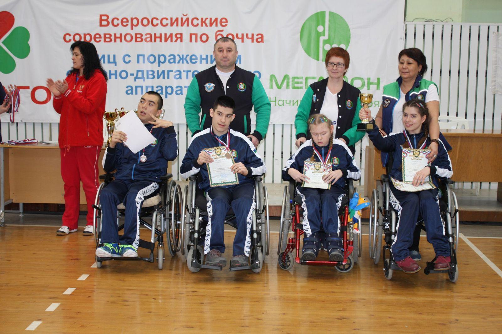 В Ижевске определены победители Всероссийских соревнований по бочча