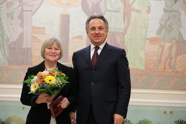 Н. А. Сладкова  награждена   Медалью  Ордена «За заслуги перед Отечеством»  II степени