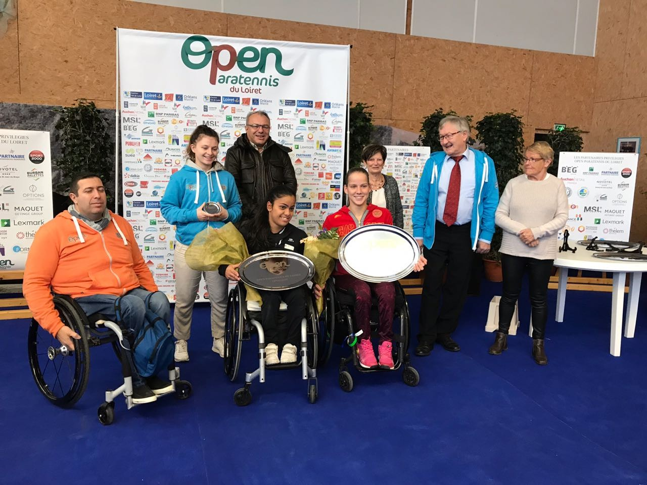 Подмосковная спортсменка Виктория Львова завоевала 2 золотые медали на международных соревнованиях по теннису на колясках во Франции