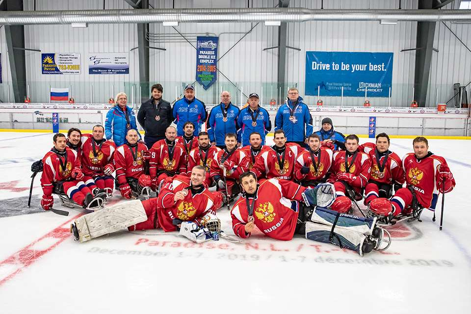 Сборная команда России по следж-хоккею завоевала бронзовые награды на «Canadian Tire Para Hockey Cup 2019»